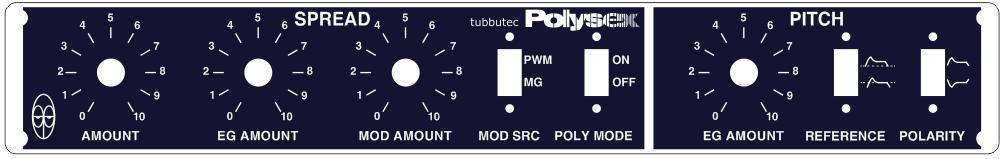 tubbutec polysex polysix mod panel