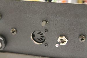 Midi socket and switch
